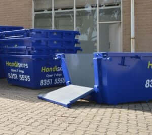 skip bin rubbish waste hire adelaide seaford hallett cove