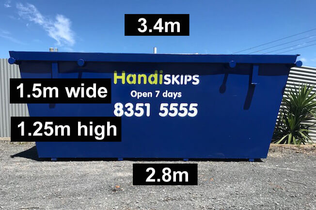 skip bins hire rent adelaide